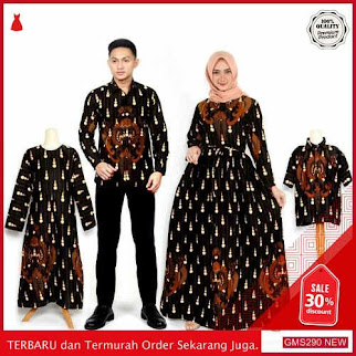 GMS290 MNTLF290C61 Couple Batik Sarimbit Keluarga Set Dropship SK1553079338