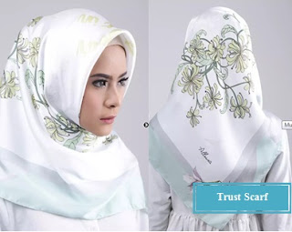 Model Jilbab Trust scarf untuk ibu pejabat