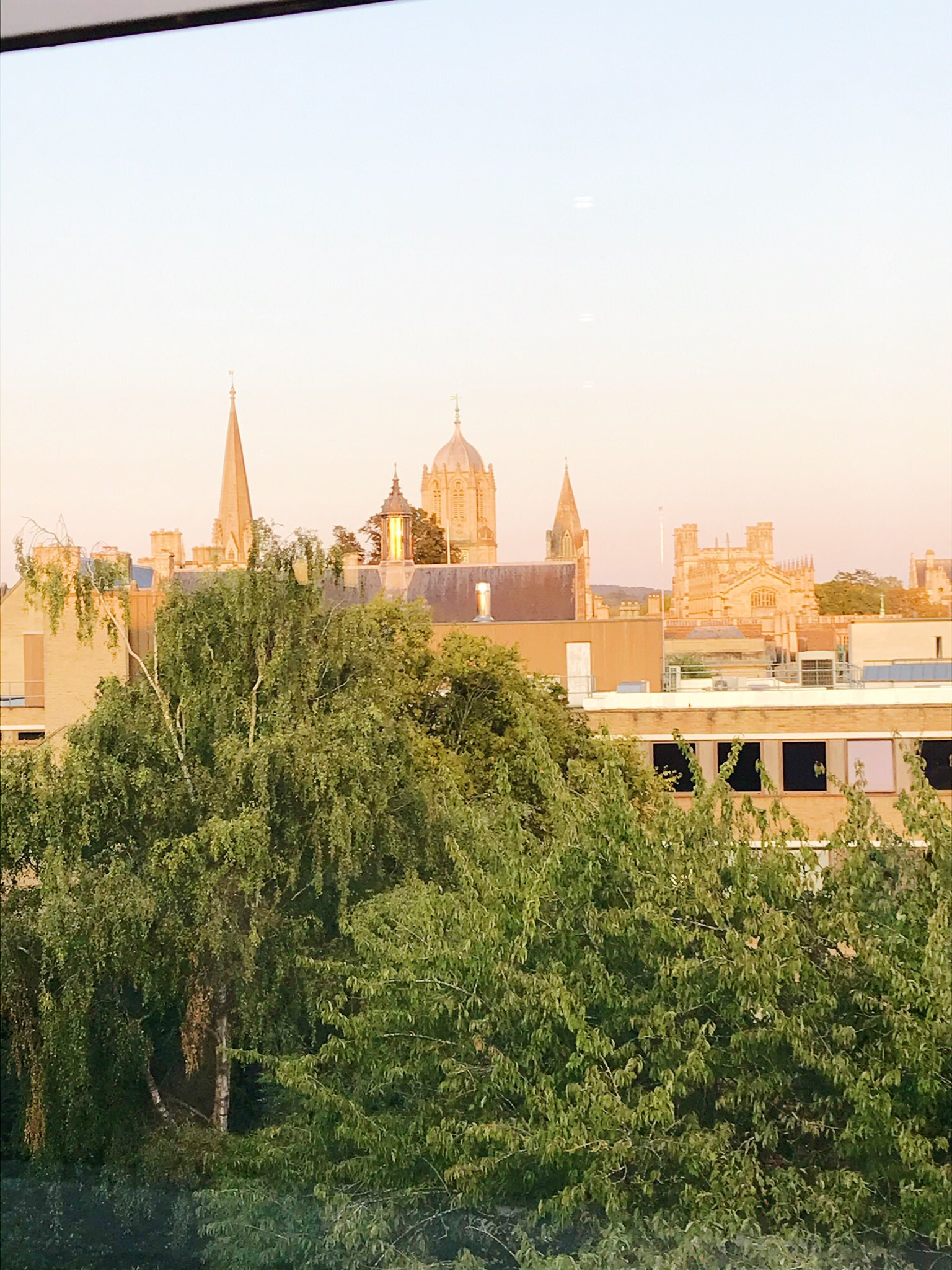 View of Oxford from Westgate Shopping Centre Roof Terrace