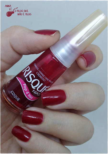 Esmalte Nailpolish Coque Risqué Pop 4 You