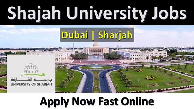 Sharjah University Jobs 2020 | Apply Online Fast |