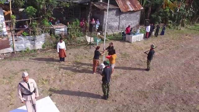 Upacara di Sawah, Berbusana Jadul, Cara Warga Desa Labruk Kidul Gaungkan Nasionalis