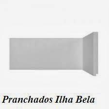 Rodapé de Poliestireno Santa Luzia 496 Branco