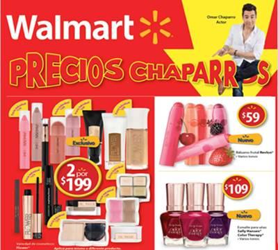 catalogo precios chaparros walmart 2017