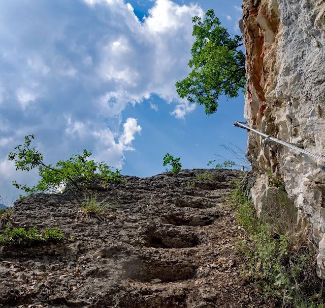 sentiero degli scaloni