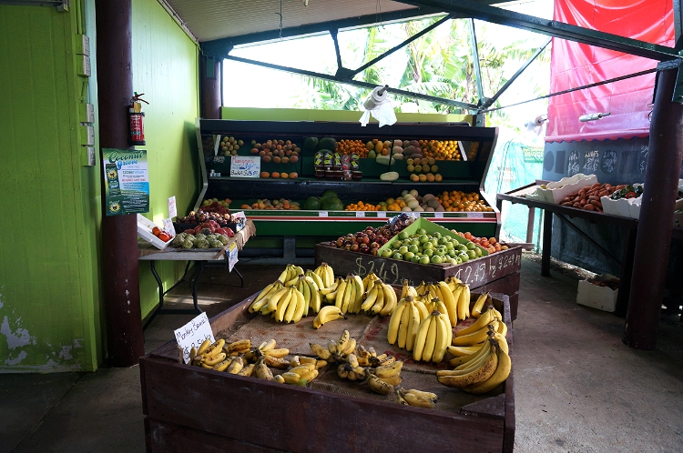 fruit and veg market, Mission Beach, Australia, Euriental
