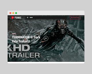 filmax blogger template Free Download  