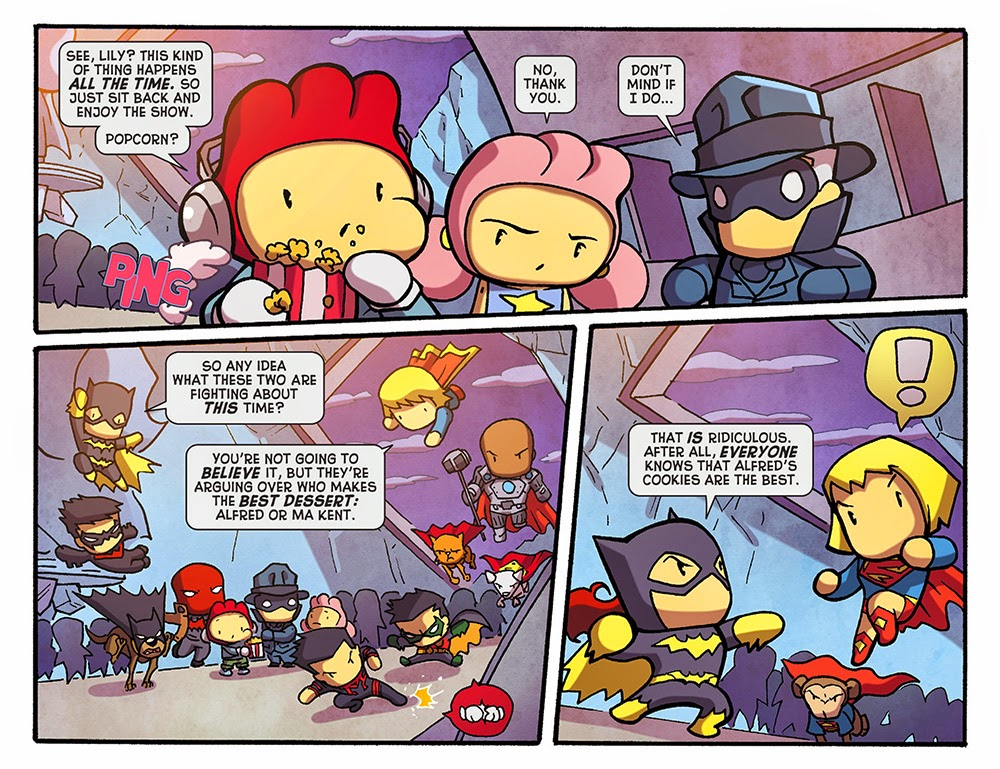 Scribblenauts Unmasked – A Crisis of Imagination 012 (2014