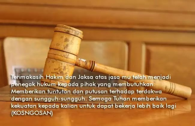 caption hakim jaksa