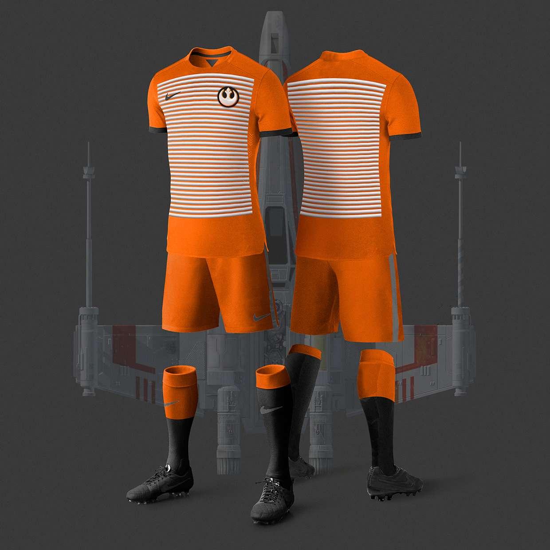 Star Wars Football Kits by Nerea Palacios - Footy Headlines