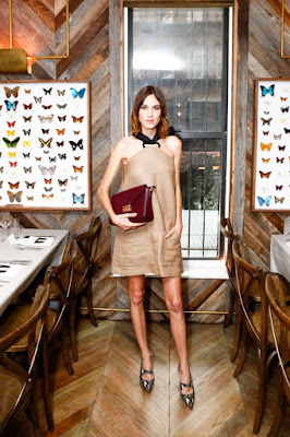 Alexa Chung is impeccable as she hosts the Longchamp Dinner in NY