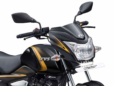 TVS Victor Premium Edition 2017 close up Image