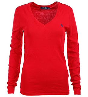 Polo Ralph Lauren Womens Perfect V Neck