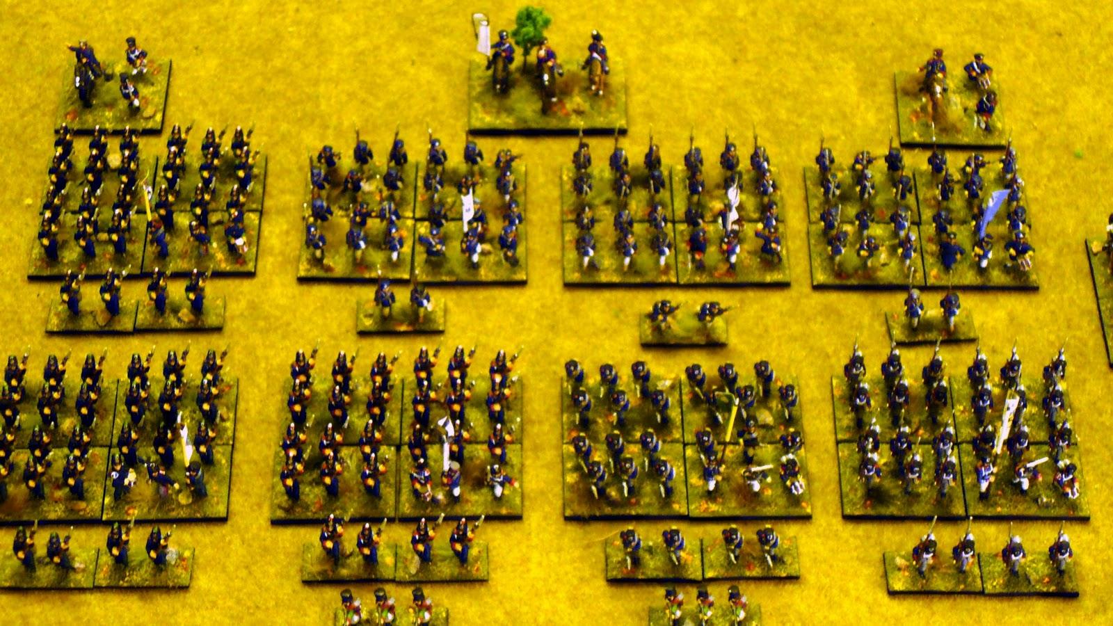 Sgt Steiner S Wargaming Blog Lasalle Prussians On Parade