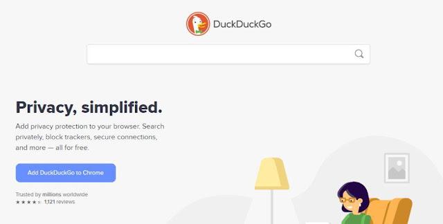 DuckDuckGo Browser andalan baru handphone