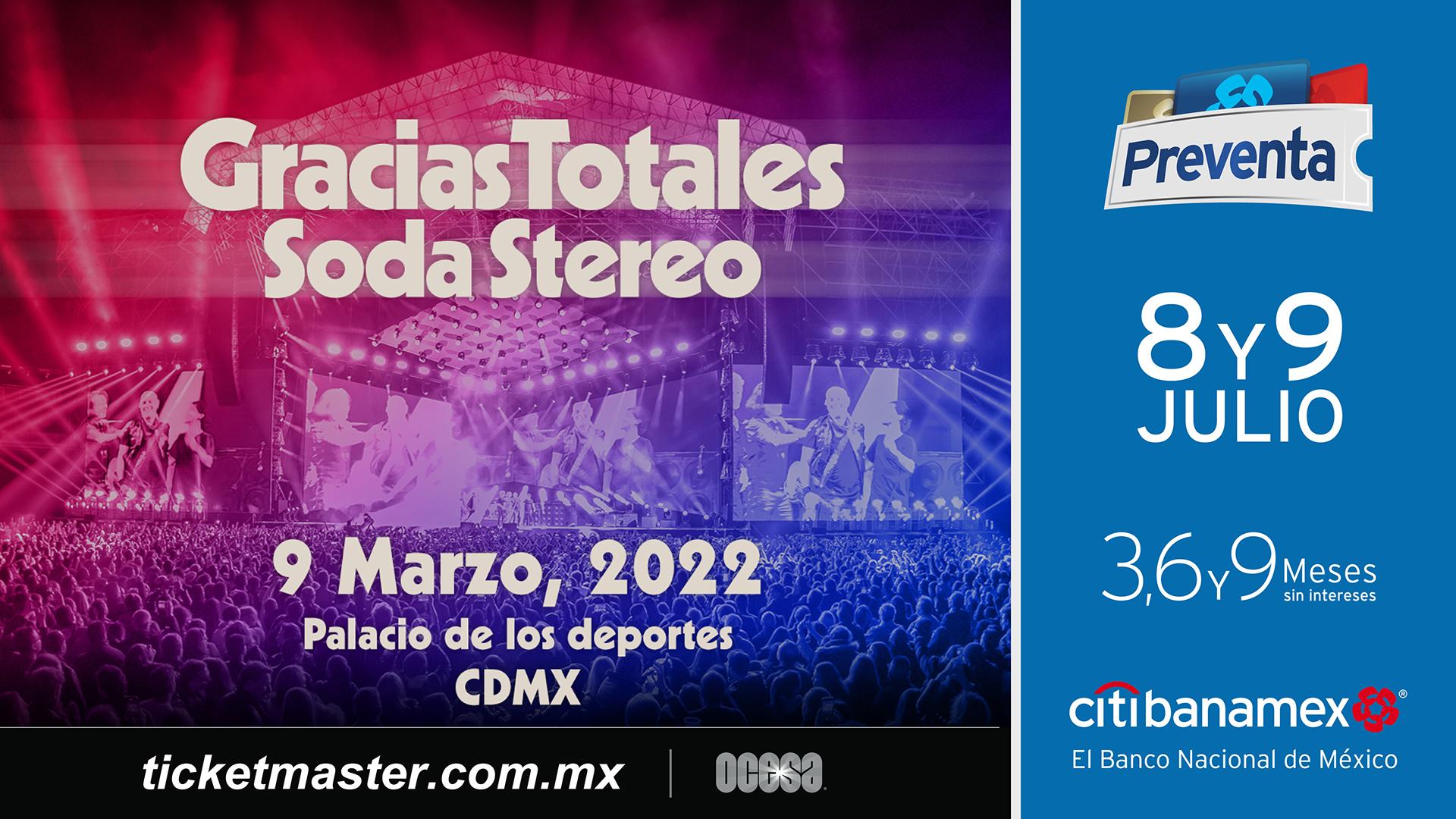 Gracias Totales Soda Stereo en México