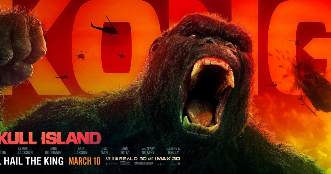 KONG Poster New Film 2017 Skull Island Movie King Kong FREE P+P CHOOSE YOUR SIZE