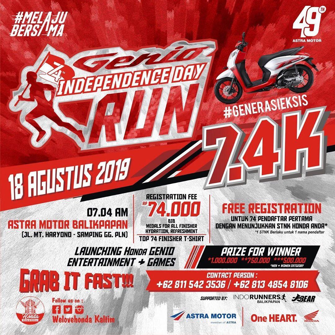 Genio Independence Day Run • 2019