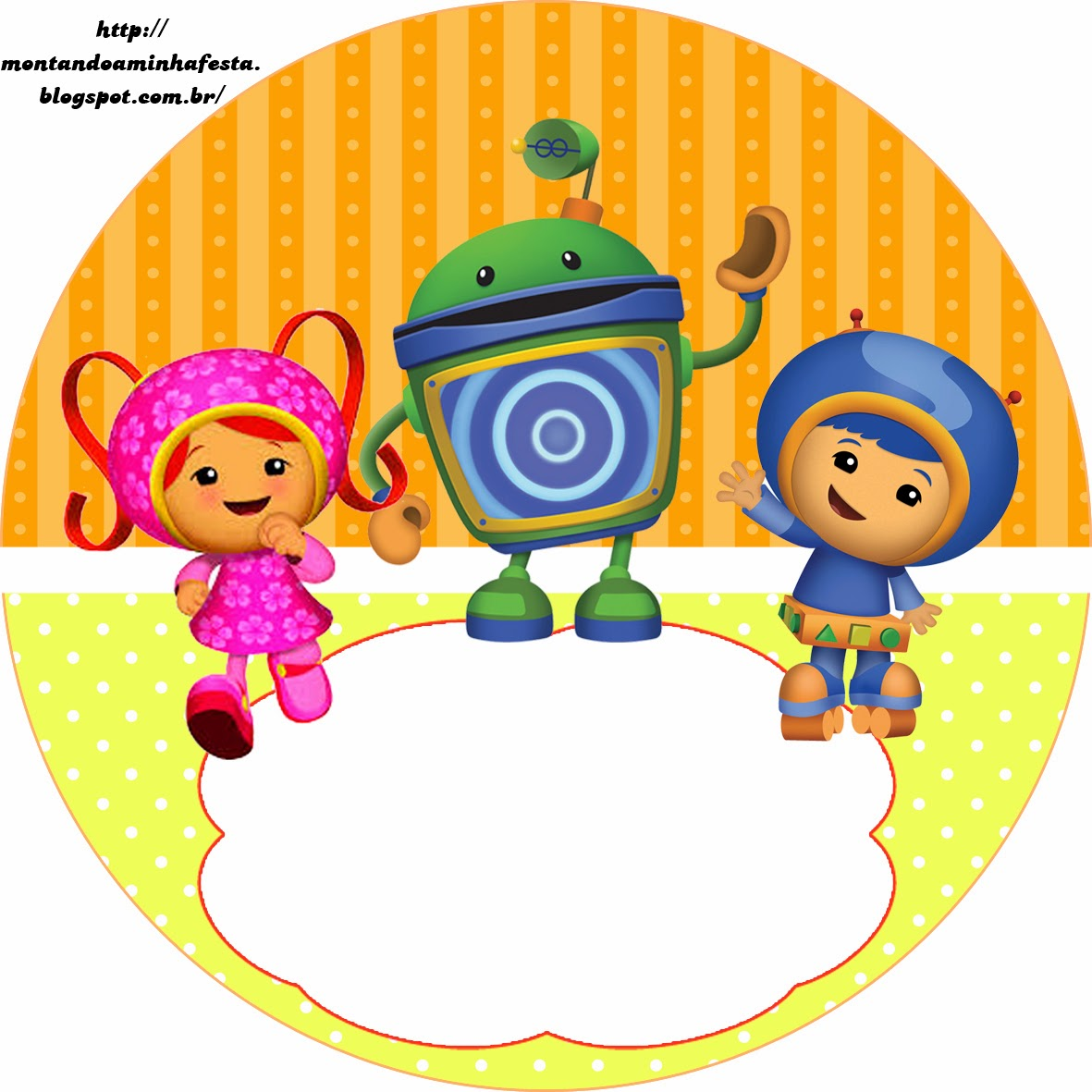 Umizoomi Free Printable Candy Bar Labels