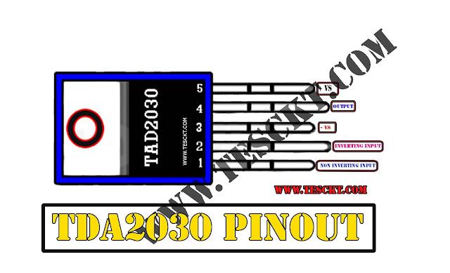 Tda2030 amplifier circuit diagram with PCB board