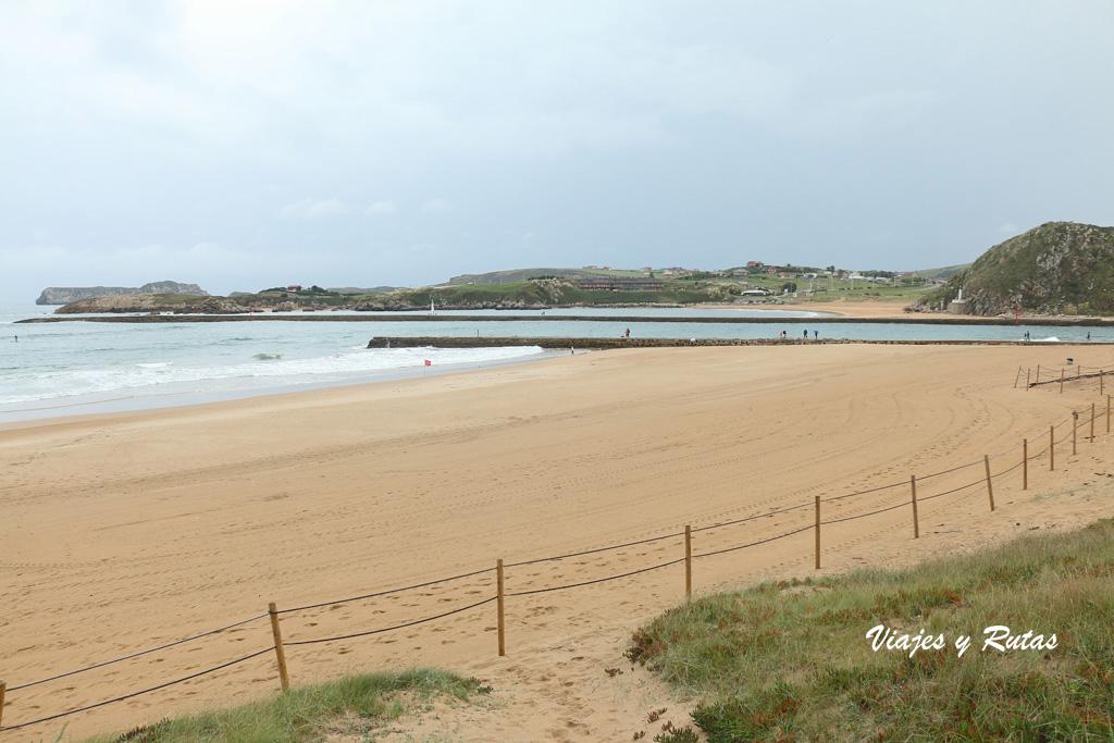 Playa de la Concha. Suances
