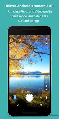 تطبيق Footej Camera لتحرير الصور بإحترافية