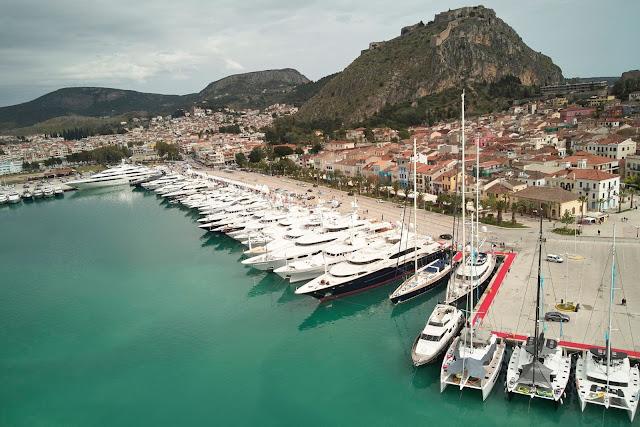 Με μεγάλη επιτυχία το Ναύπλιο φιλοξένησε για 6η χρονιά το Mediterranean Yacht Show