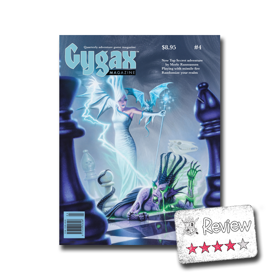 Frugal GM Review: Gygax Magazine #4