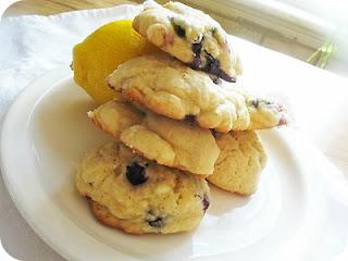 Blueberry Lemon Cookies Lemon Blueberry Cheesecake Bars