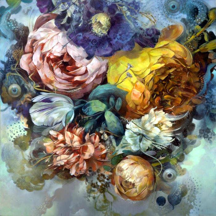 Рисунки цветов. Carmelo Blandino 3