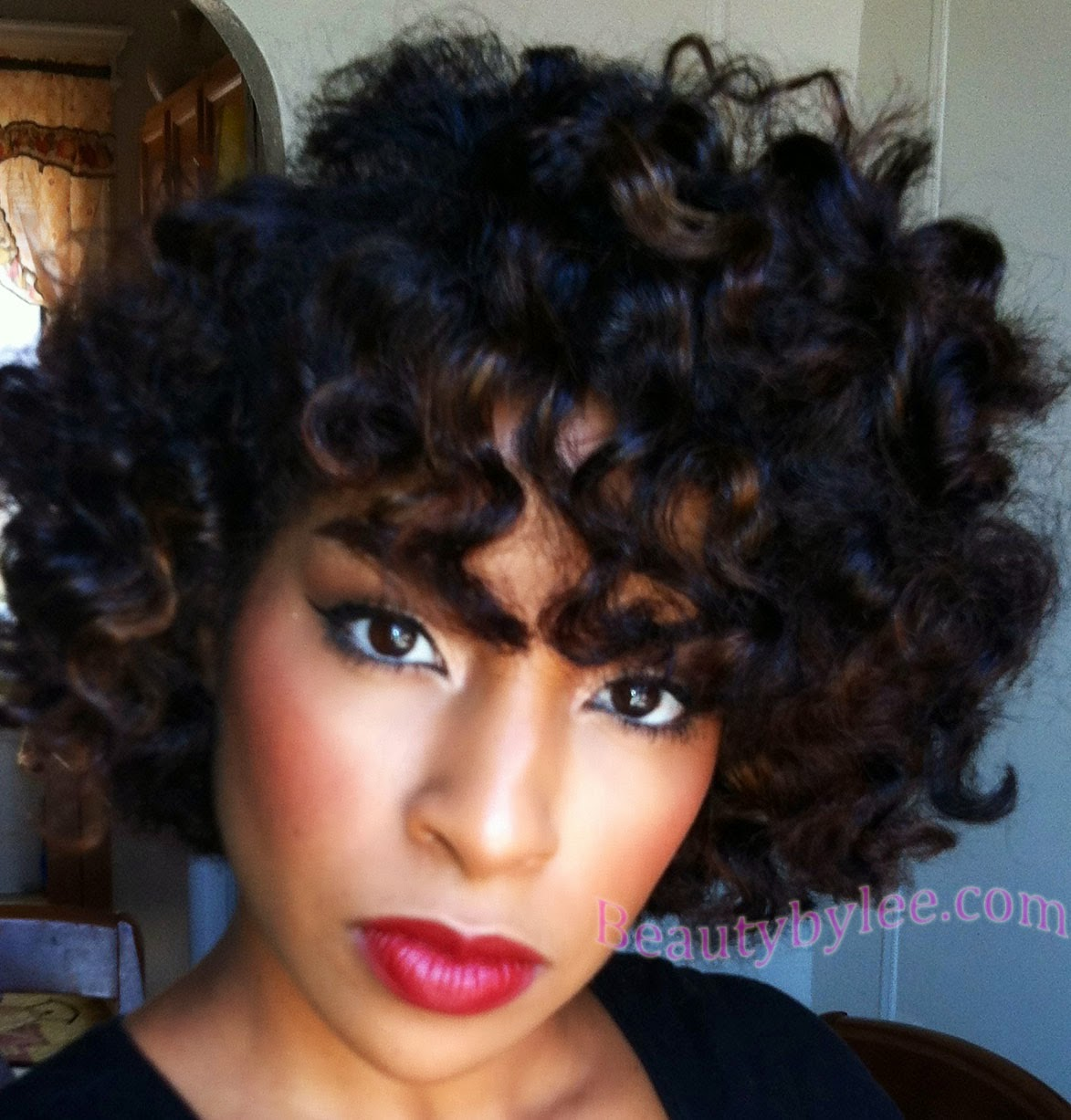 Bantu Knot Out On Short Natural Hair Pinterest