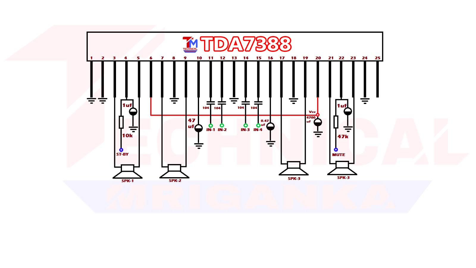 Tda Ic Audio Amplifier Technical Mriganka