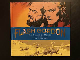 My copy of Flash Gordon: The Tyrant of Mongo (Sundays 1937-1941). The cover depicts Dr. Hans Zarkov and Flash Gordon.