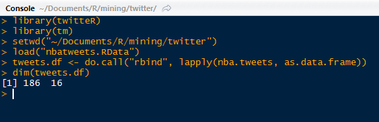 Valence Analytics: Text Mining: 2  Converting Tweet Text