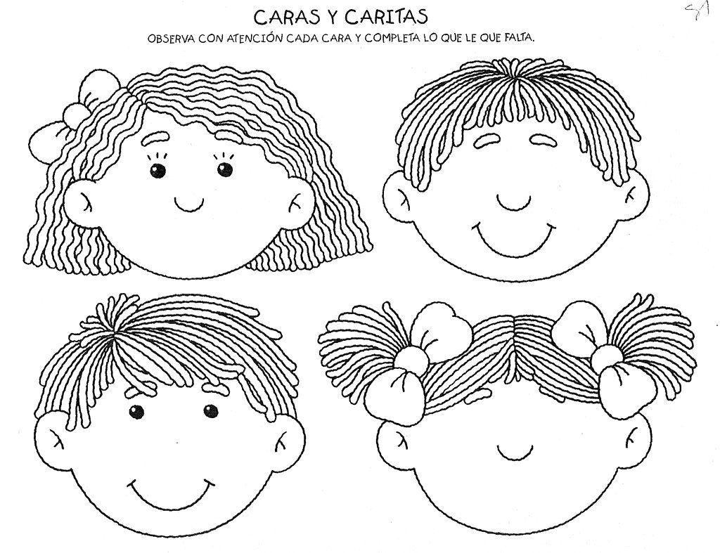 Dibujos De Aplicacio De Partes De La Cara: ISaBLog: Secuencia Didactica Adaptada