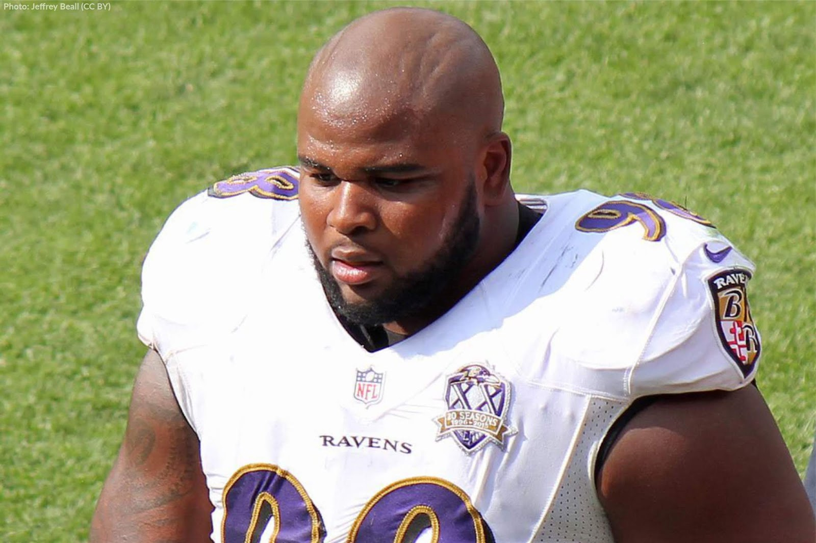 Baltimore Ravens defensive tackle, Brandon Williams, has keratoconus