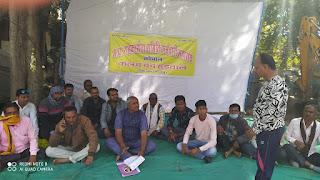 मध्यप्रदेश सहकारिता समिति कर्मचारी महासंघ की कलम बद हड़ताल