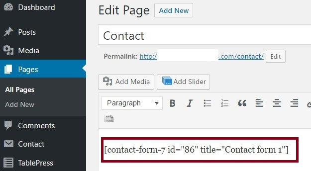 could be the most popular contact plugin for WordPress platform WordPress: Configure Captcha for Contact Form 7 Wordpress plugin