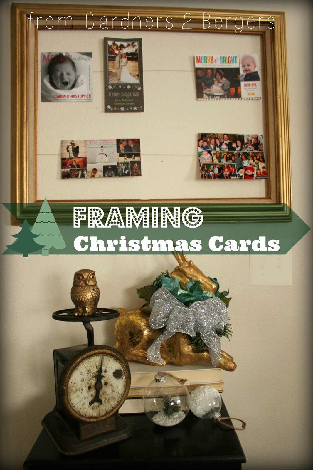 How-to-Hang-Christmas-Cards-in-a-Frame