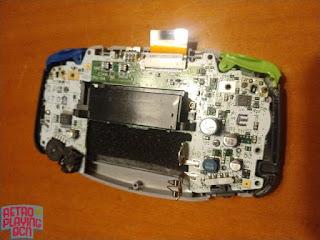 montaje placa gba y pantalla