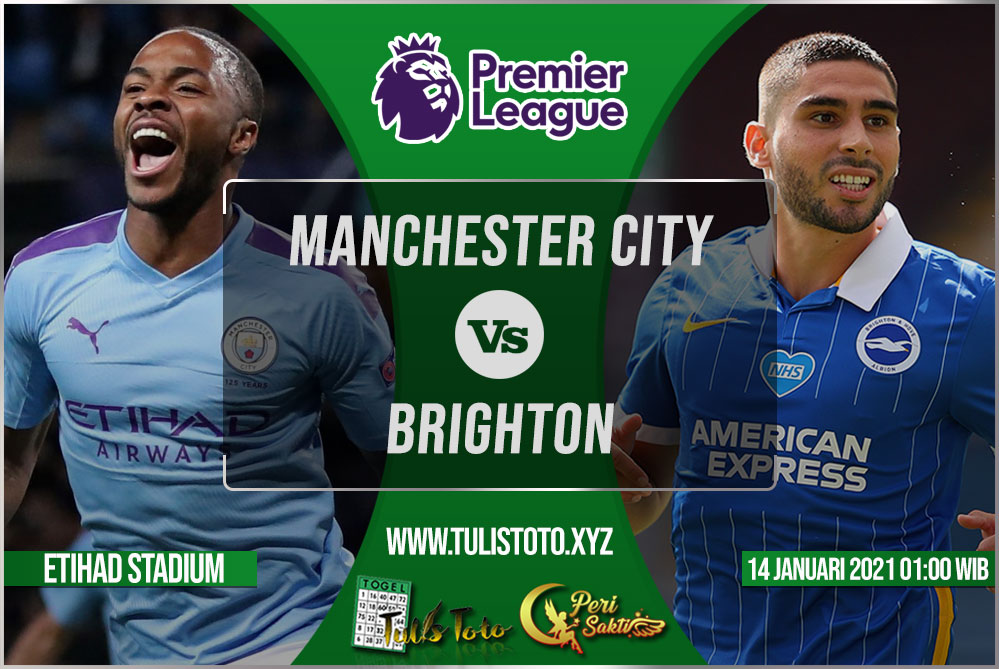 Prediksi Manchester City vs Brighton 14 Januari 2021