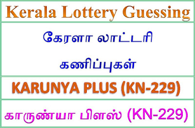 Kerala lottery guessing of KARUNYA PLUS KN-229, KARUNYA PLUS KN-229 lottery prediction, top winning numbers of KARUNYA PLUS KN-229, ABC winning numbers, ABC KARUNYA PLUS KN-229 06-09-2018 ABC winning numbers, Best four winning numbers, KARUNYA PLUS KN-229 six digit winning numbers, kerala lottery result KARUNYA PLUS KN-229,