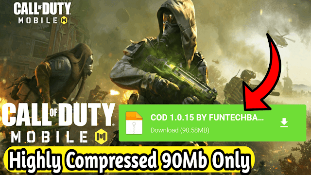 Download Call Of Duty Mobile [90MB] Latest Version 1.0.15 Highly Compressed On Android | COD Mobile