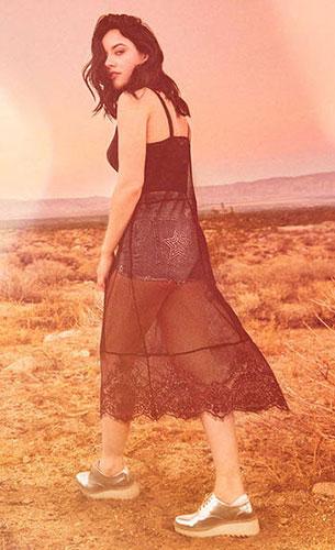 vestido colección festival H&M Coachella