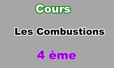 Cours Sur Les Combustions 4eme en PDF