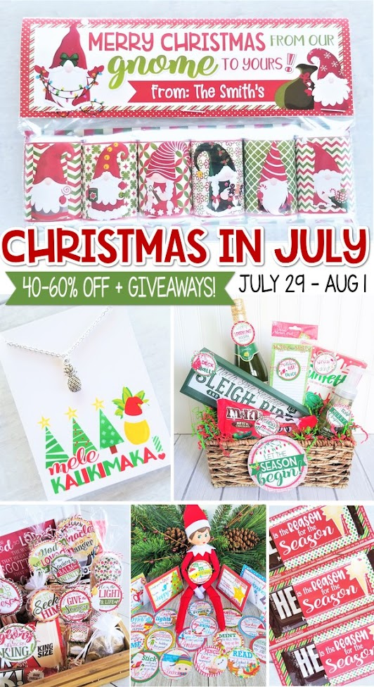 Christmas in July: Announcement & Giveaway!
