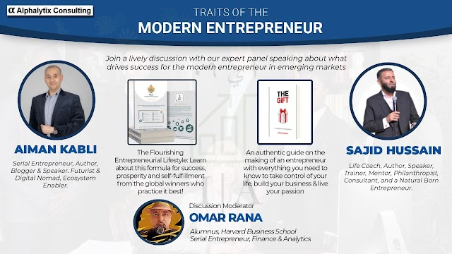 """""""Modern Muslim Entrepreneurs, 2 Authors moderated by a Harvard guy"""""""