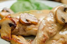 CROCKPOT CHICKEN & MUSHROOMS RECIPE #healthydinner #dietrecipes #diet #dinner #chicken