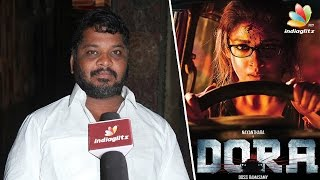 Why 'A' Certificate for Dora movie : Producer Sarkunam Interview | Reelah Realah, Nayanthara