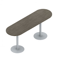 Oval Bistro Table